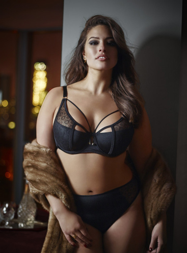 I drew on my experiences as a plus size model to create lingerie pieces that work on the body and are as comfortable and supportive to wear as they are beautiful.  My goal was to create a luxurious collection which could flatter women of all sizes and ages, bringing out their inner sexy goddess as beauty comes from within and sexy is a state of mind.""